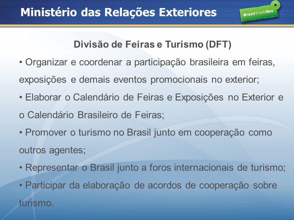 Divisão de Feiras e Turismo (DFT)