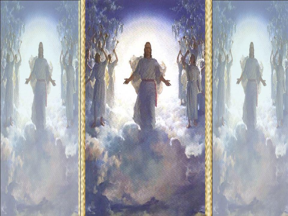 Cristo é o centro do mundo angélico. Os anjos são seus