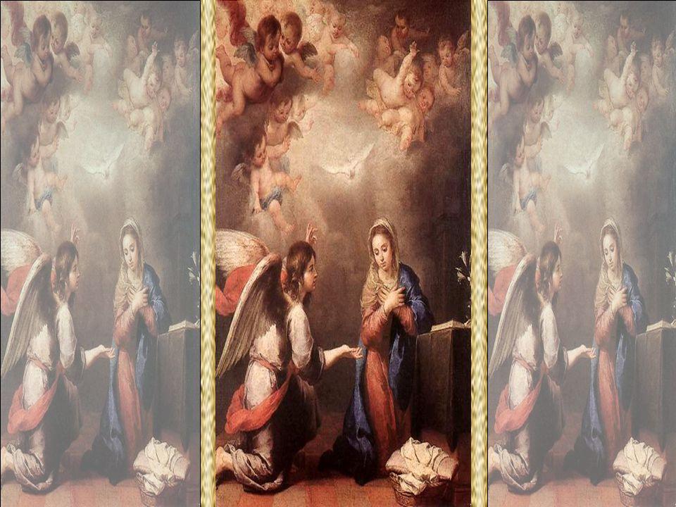 Gabriel O Poder é Deus. Arcanjo escolhido para anunciar à Santíssima Virgem o mistério da Encarnação: Ave, cheia de graça, o Senhor é contigo .