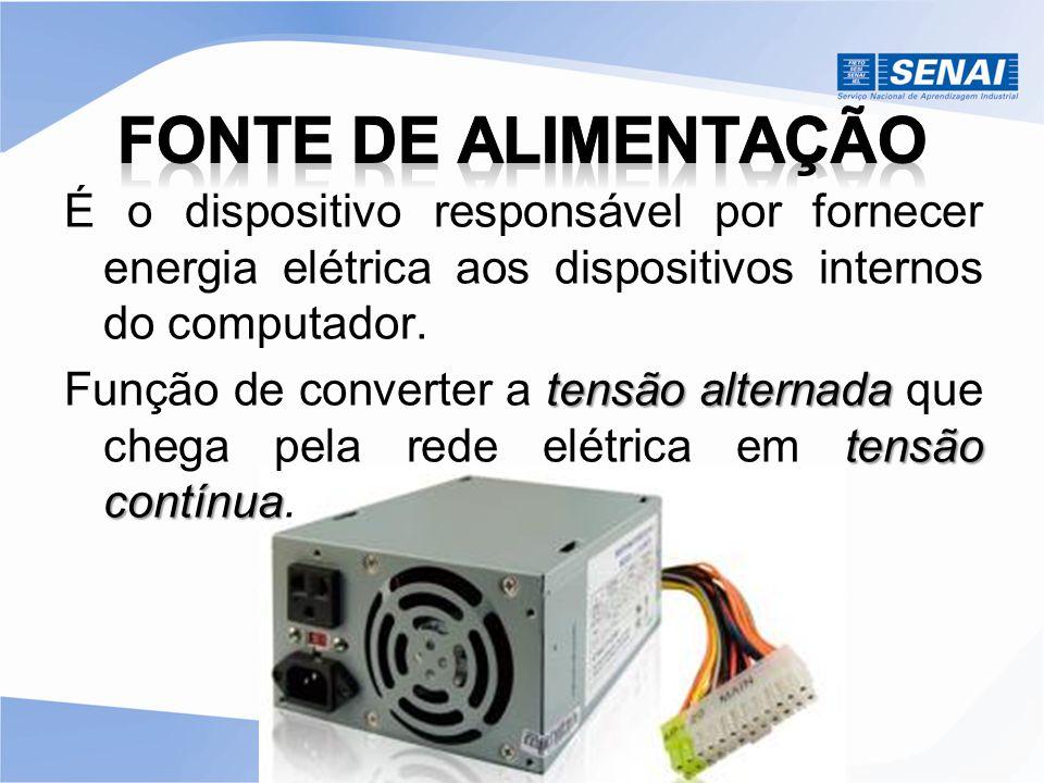 FONTE DE ALIMENTAÇÃO