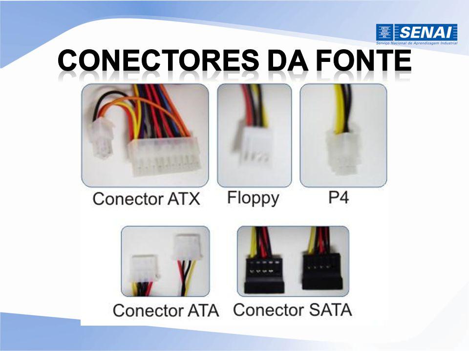 Conectores da Fonte