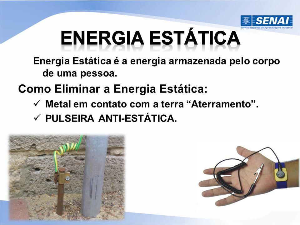 ENERGIA ESTÁTICA Como Eliminar a Energia Estática: