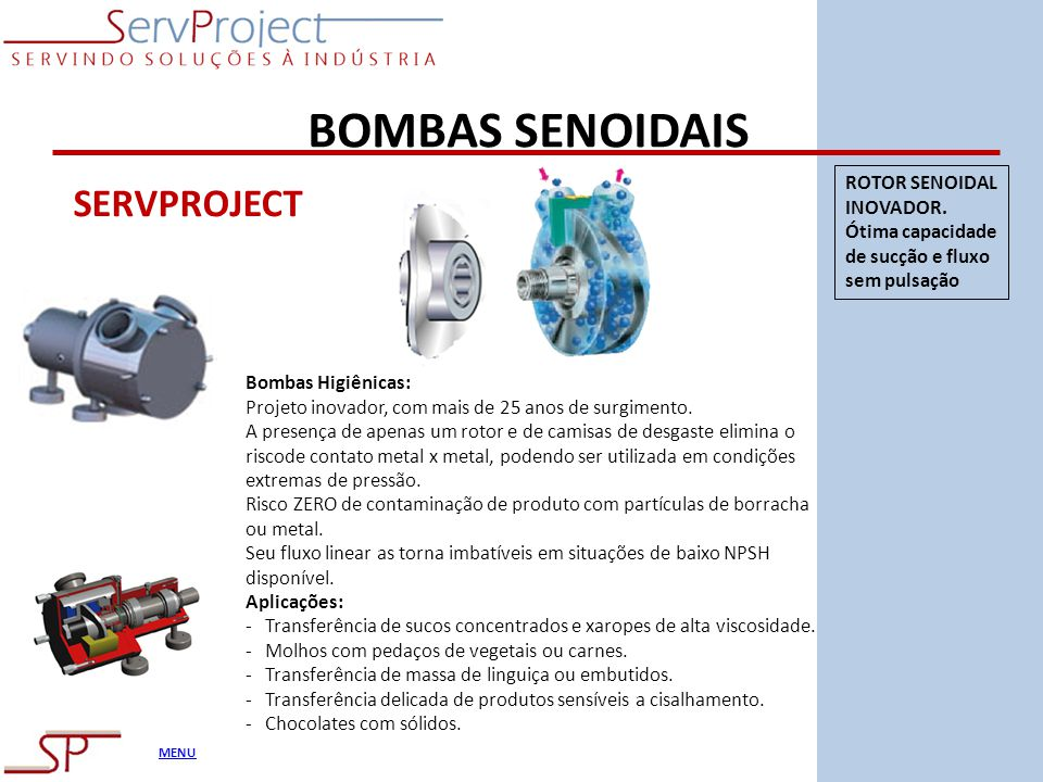 BOMBAS SENOIDAIS SERVPROJECT