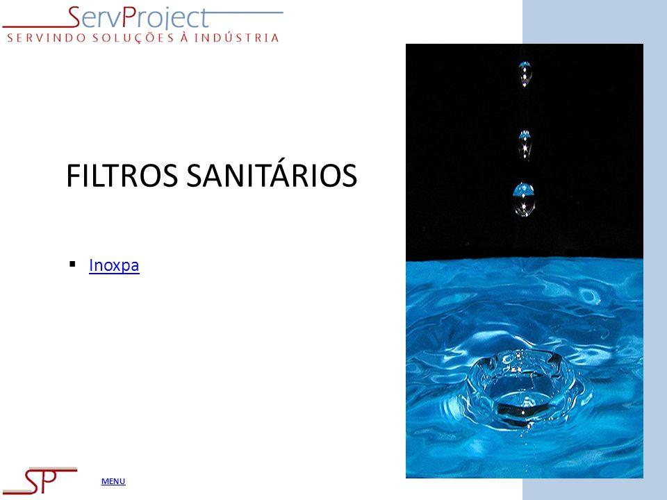 FILTROS SANITÁRIOS Inoxpa
