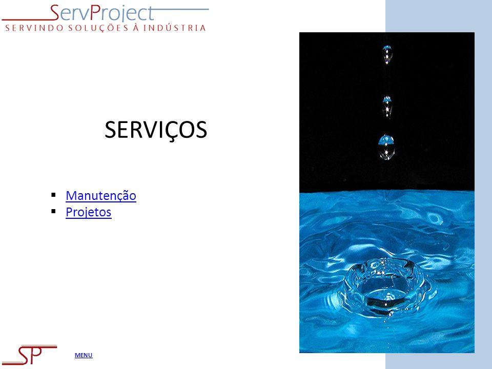 SERVIÇOS Manutenção Projetos