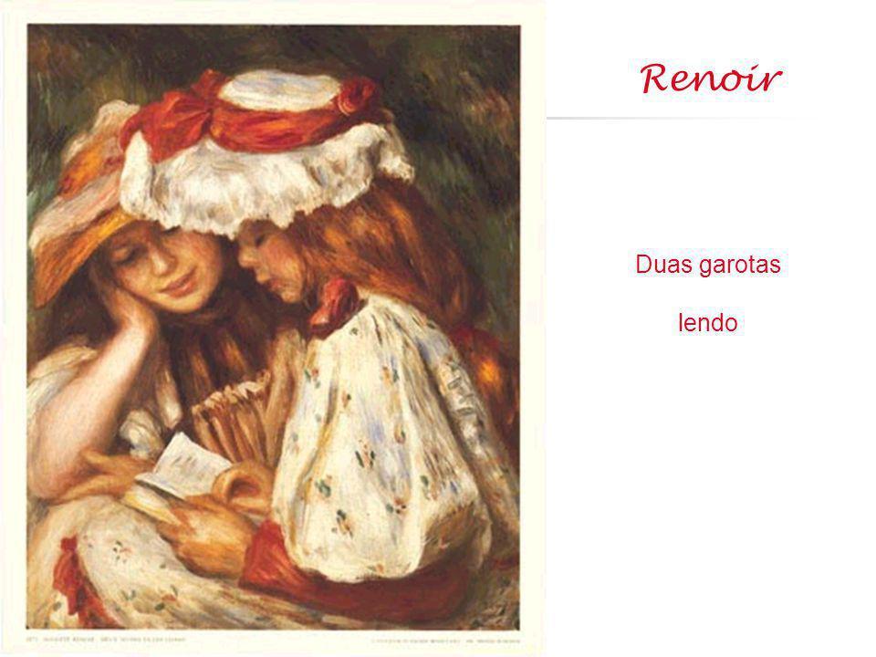 Renoir Duas garotas lendo
