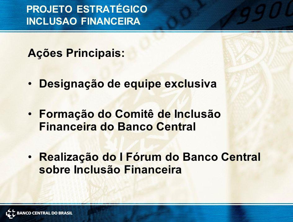 PROJETO ESTRATÉGICO INCLUSAO FINANCEIRA
