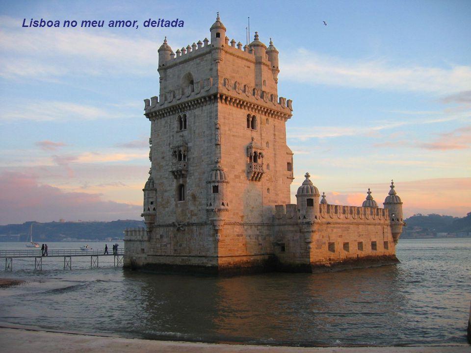 Lisboa no meu amor, deitada