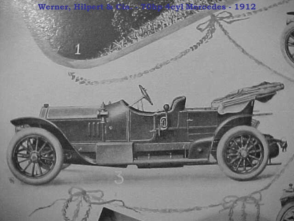 Werner, Hilpert & Cia. - 70hp 4cyl Mercedes - 1912