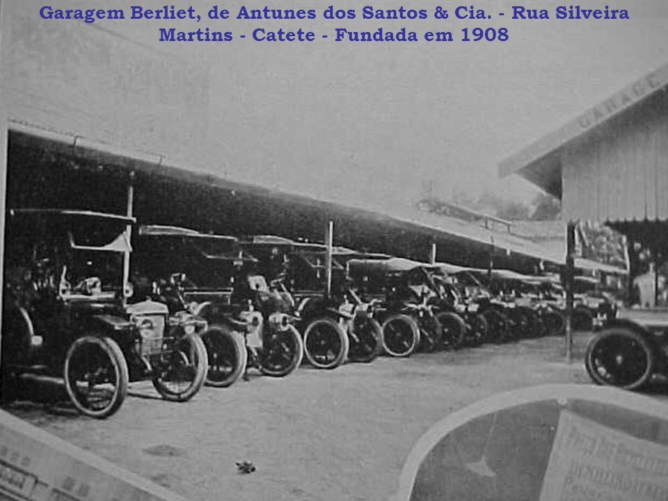 Garagem Berliet, de Antunes dos Santos & Cia
