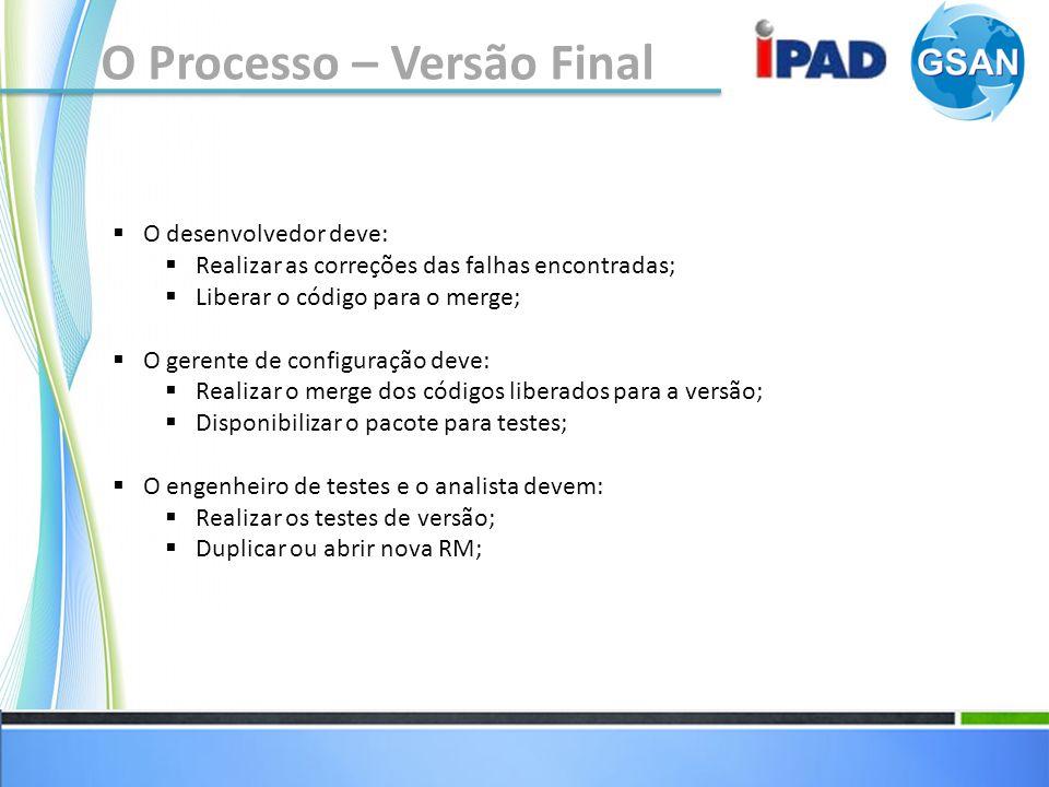 O Processo – Versão Final