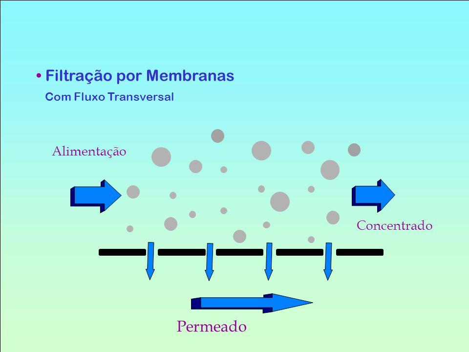 Filtração por Membranas