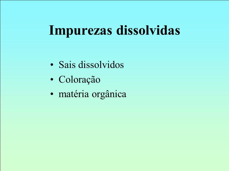 Impurezas dissolvidas