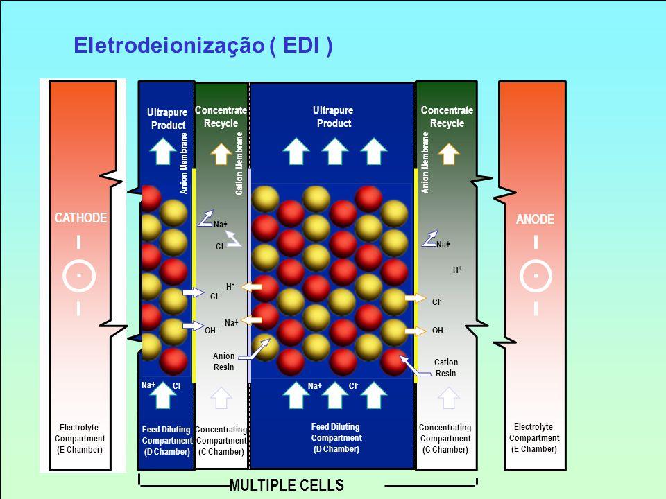 Eletrodeionização ( EDI )
