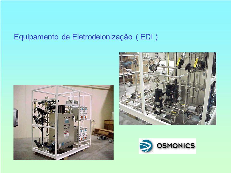 Equipamento de Eletrodeionização ( EDI )