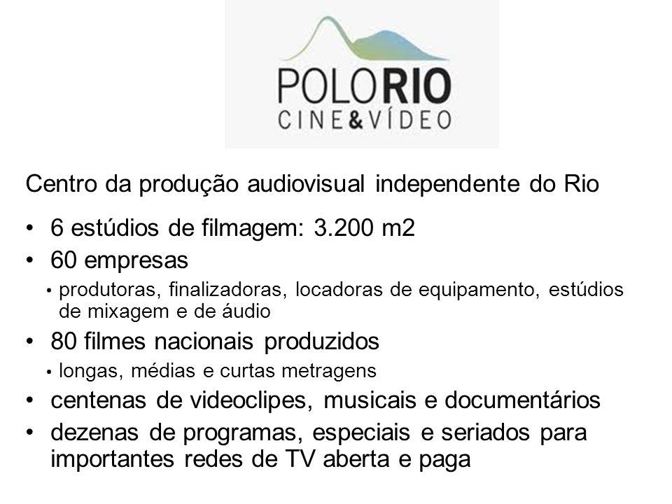 . . . . Centro da produção audiovisual independente do Rio