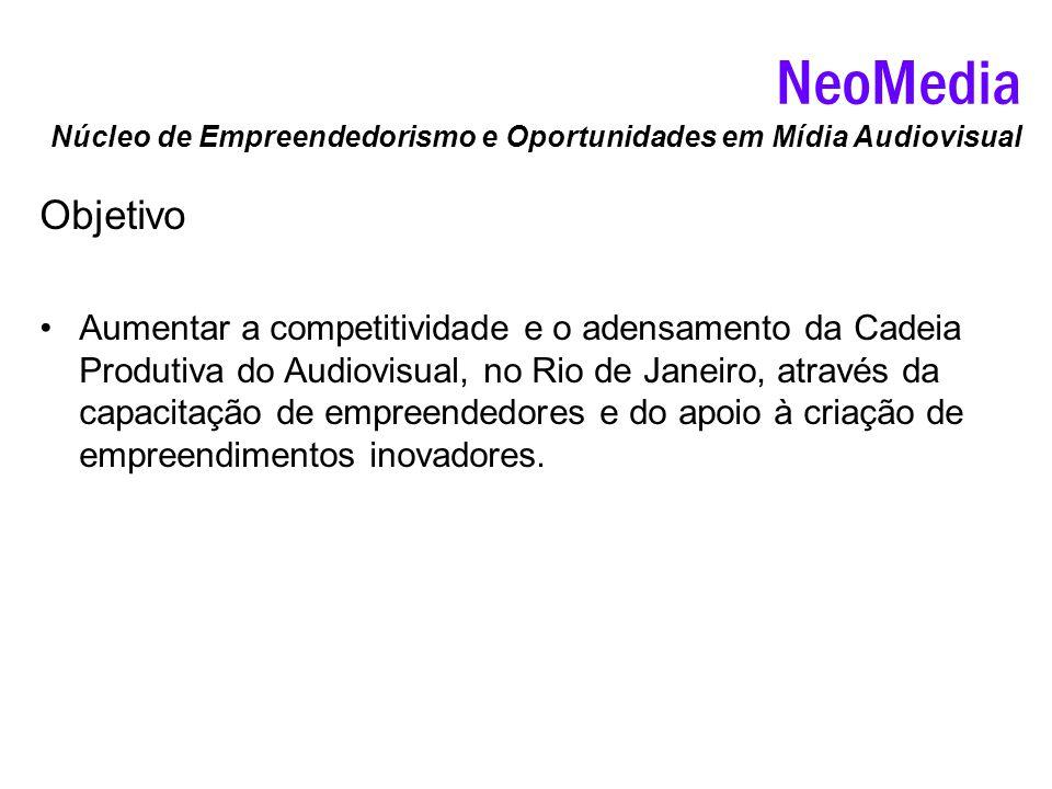 NeoMedia Núcleo de Empreendedorismo e Oportunidades em Mídia Audiovisual