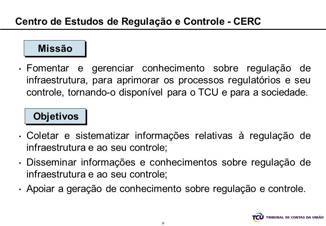 Centro de Estudos de Regulação e Controle - CERC