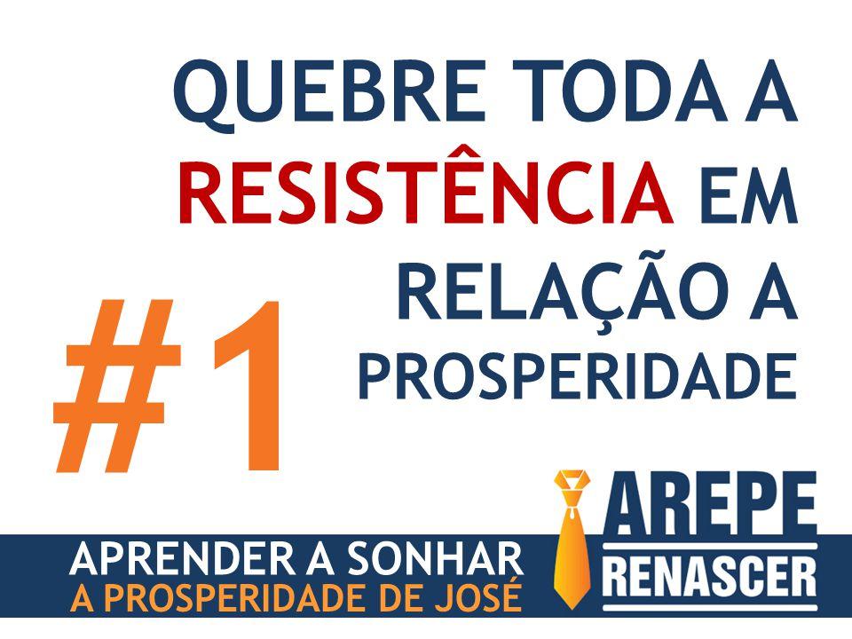 #1 QUEBRE TODA A RESISTÊNCIA EM RELAÇÃO A PROSPERIDADE