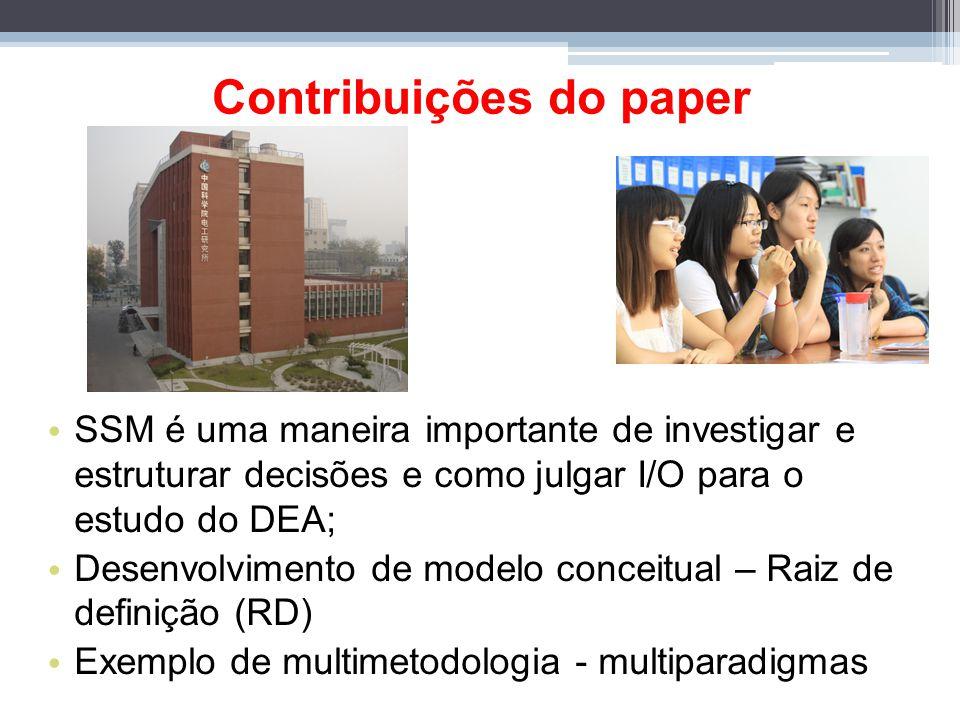 Contribuições do paper