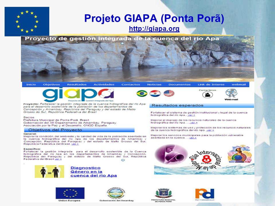 Projeto GIAPA (Ponta Porã) http://giapa.org