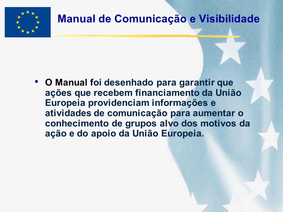 Manual de Comunicação e Visibilidade
