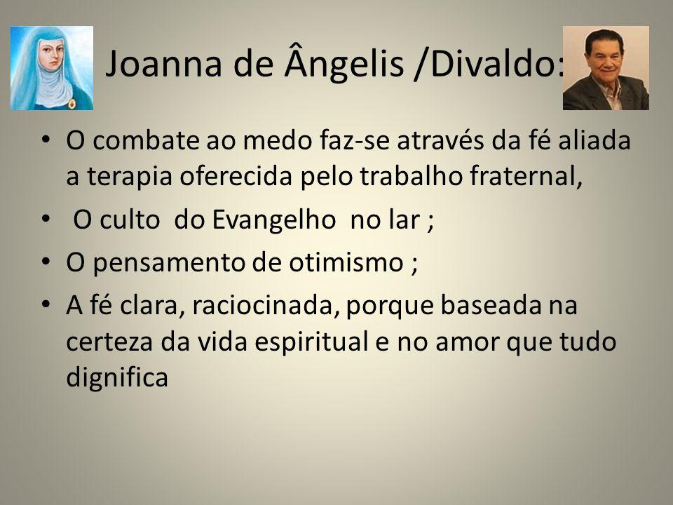 Joanna de Ângelis /Divaldo: