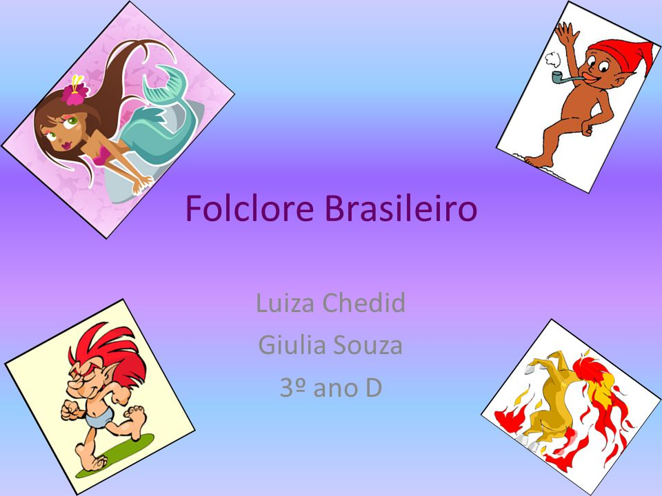 Luiza Chedid Giulia Souza 3º ano D