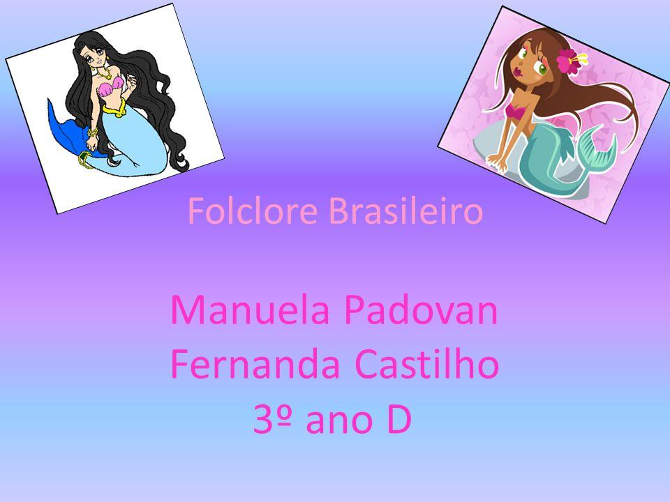 Manuela Padovan Fernanda Castilho 3º ano D