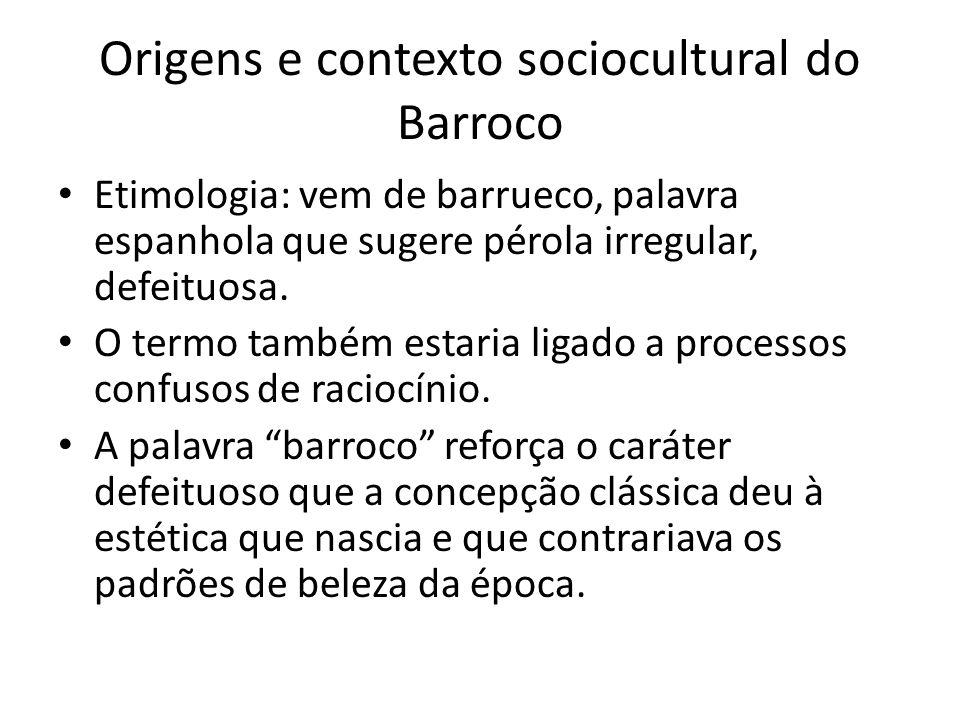Origens e contexto sociocultural do Barroco