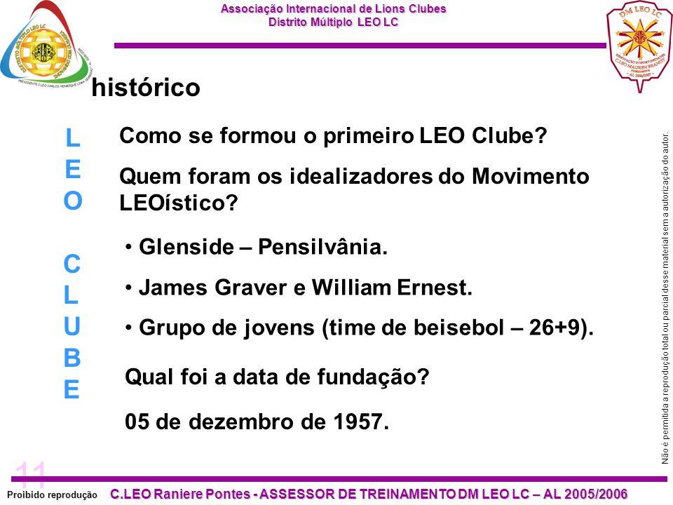 histórico LEO CLUBE Como se formou o primeiro LEO Clube