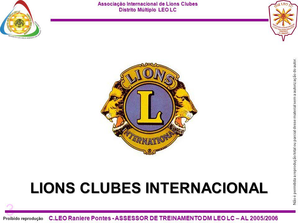 LIONS CLUBES INTERNACIONAL