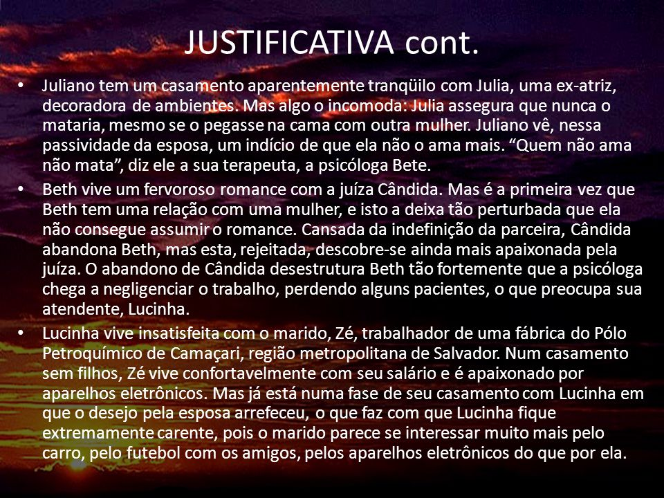 JUSTIFICATIVA cont.