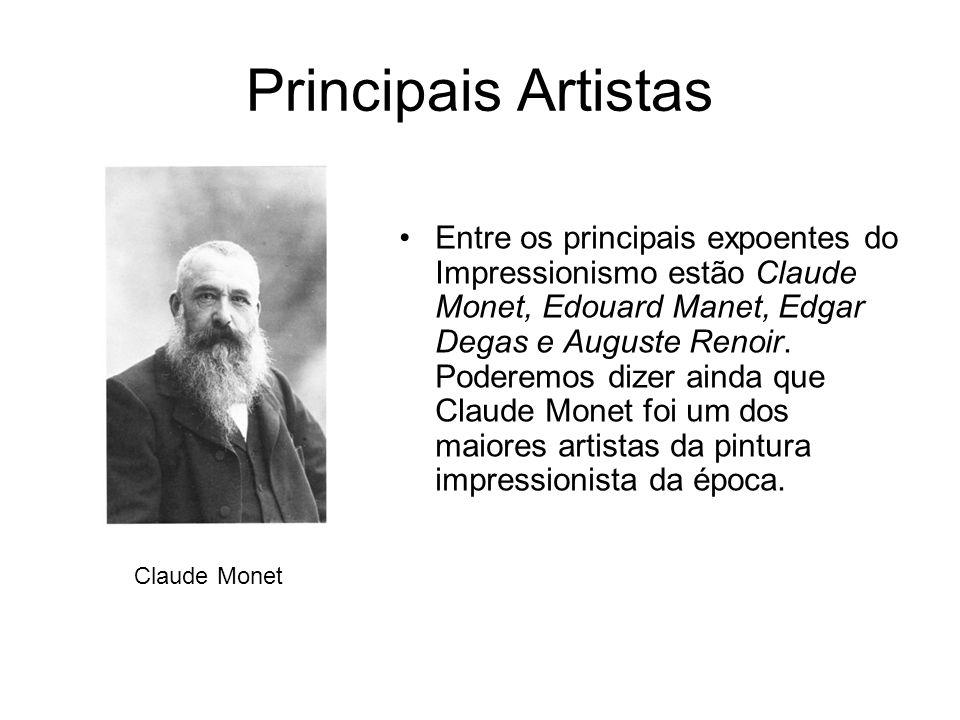 Principais Artistas