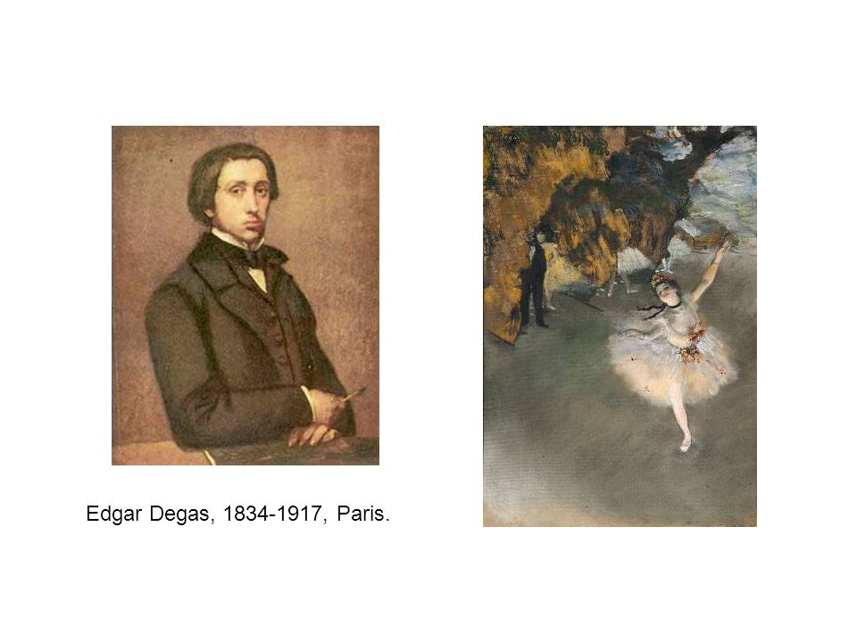 Edgar Degas, 1834-1917, Paris.