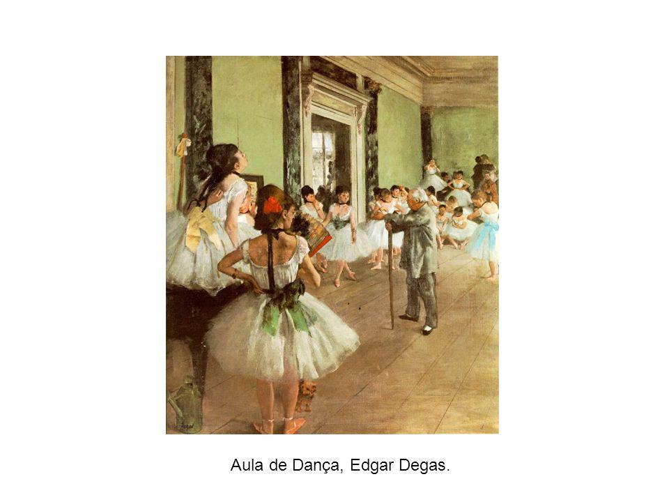 Aula de Dança, Edgar Degas.