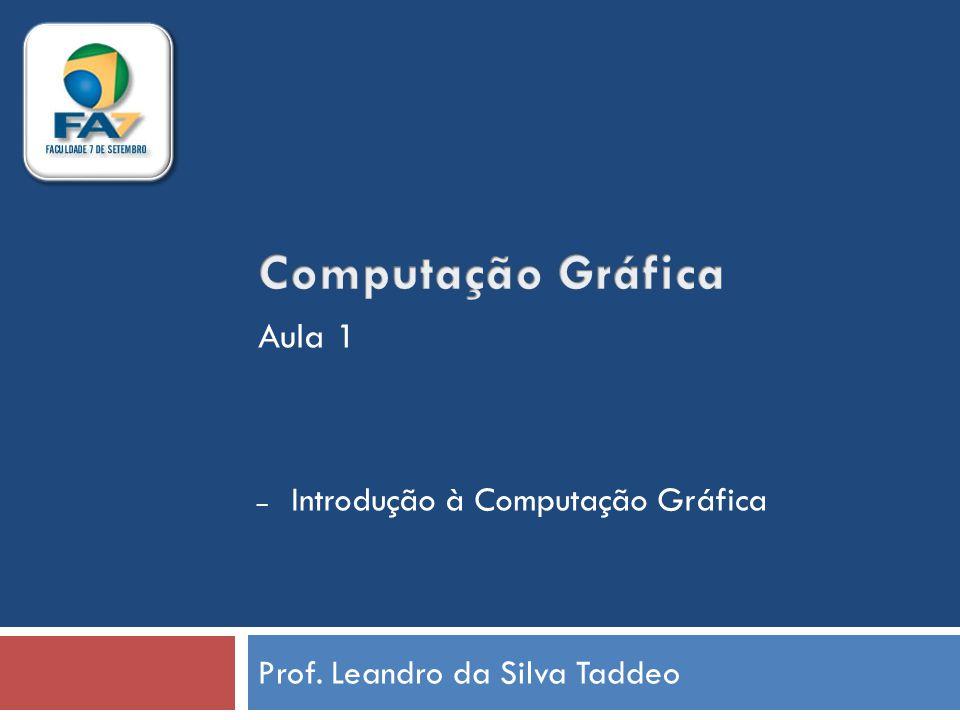 Prof. Leandro da Silva Taddeo