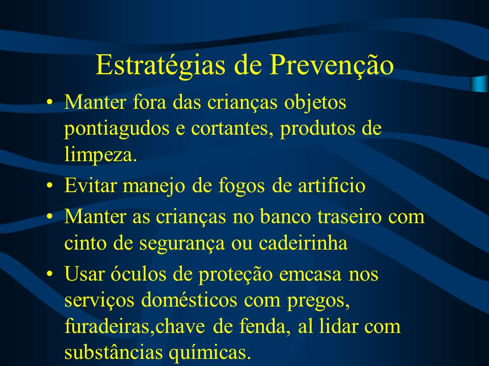Estratégias de Prevenção