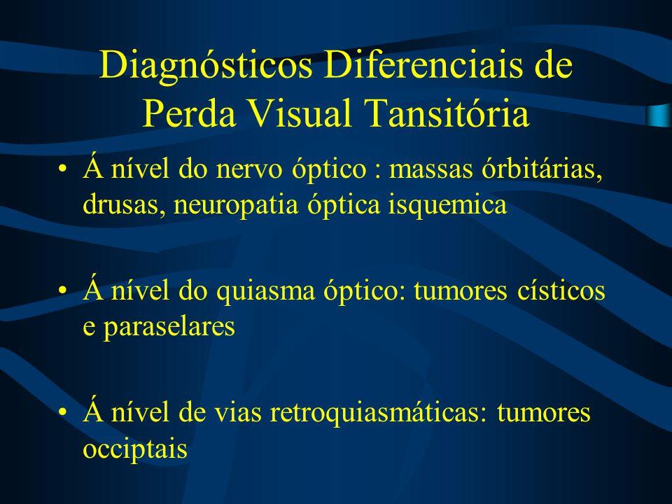Diagnósticos Diferenciais de Perda Visual Tansitória