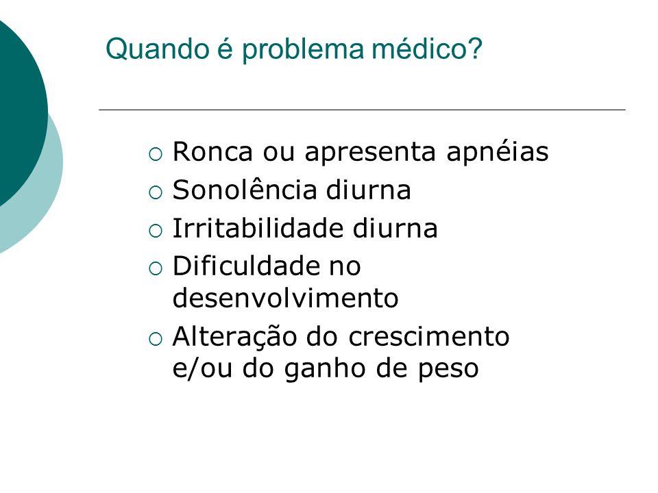 Quando é problema médico