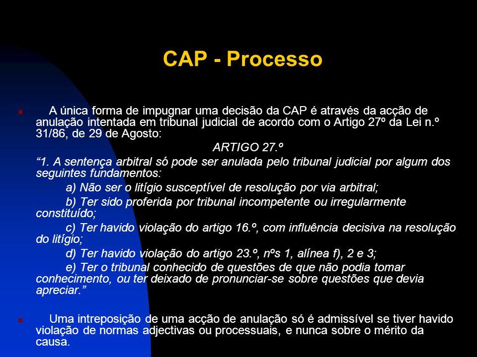 CAP - Processo