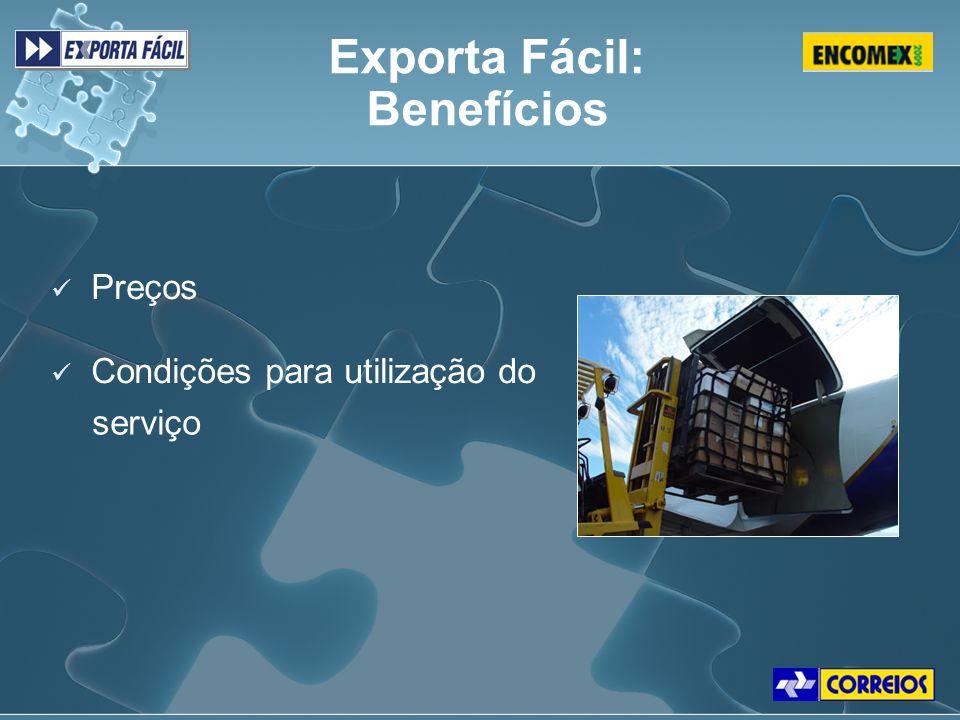 Exporta Fácil: Benefícios