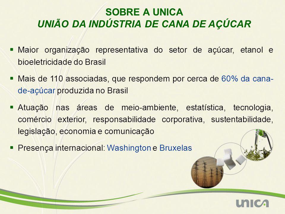 UNIÃO DA INDÚSTRIA DE CANA DE AÇÚCAR
