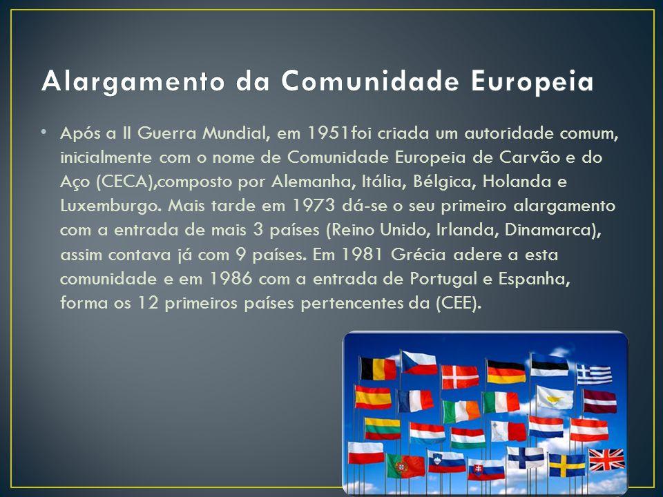 Alargamento da Comunidade Europeia