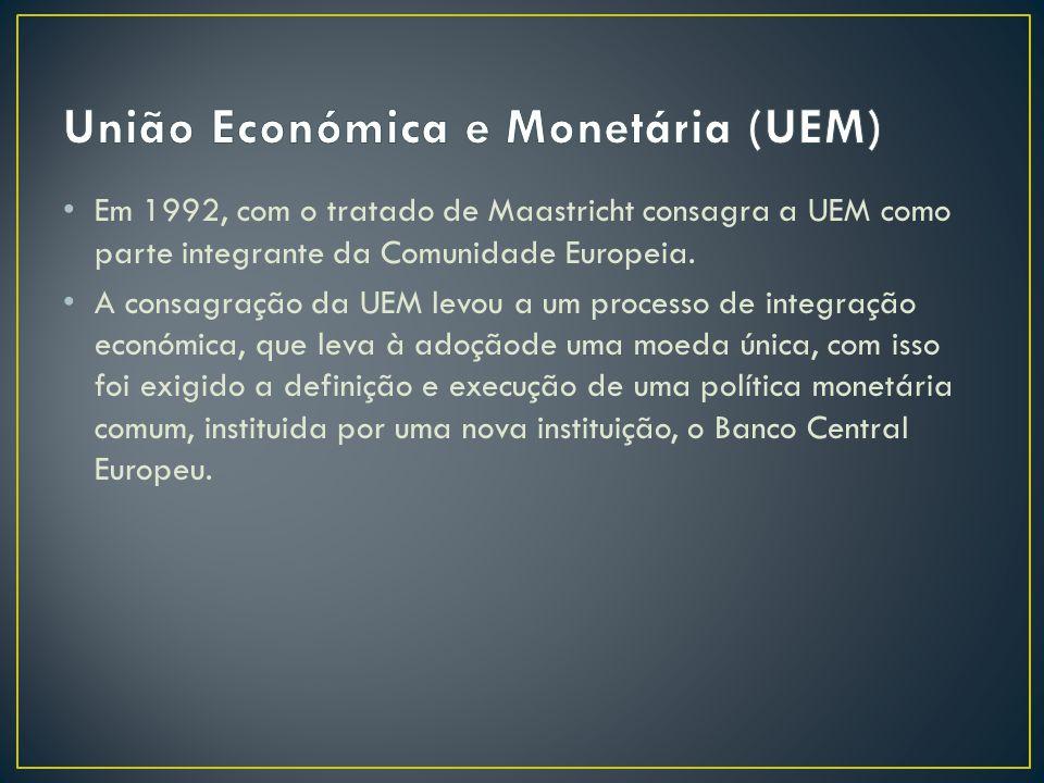 União Económica e Monetária (UEM)