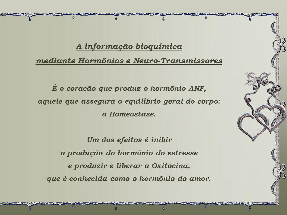 A informação bioquímica mediante Hormônios e Neuro-Transmissores