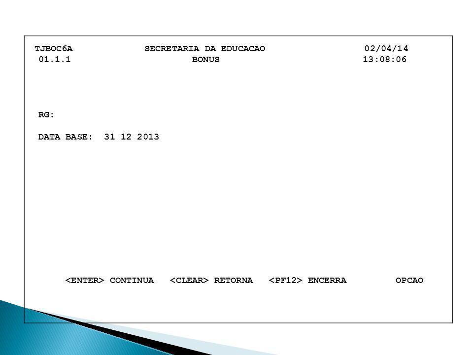 TJBOC6A SECRETARIA DA EDUCACAO 02/04/14