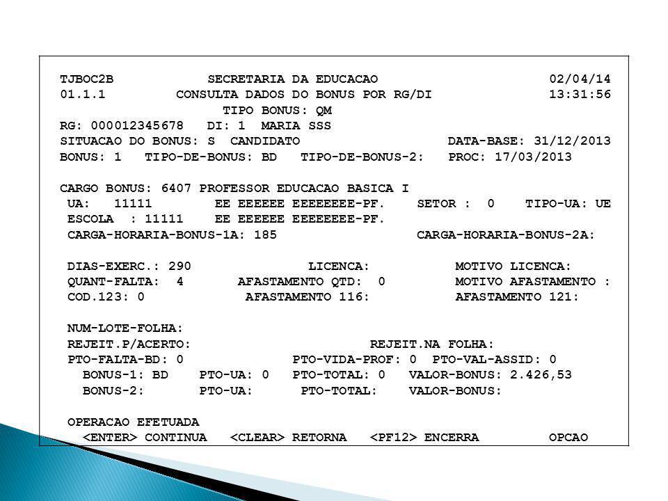 TJBOC2B SECRETARIA DA EDUCACAO 02/04/14