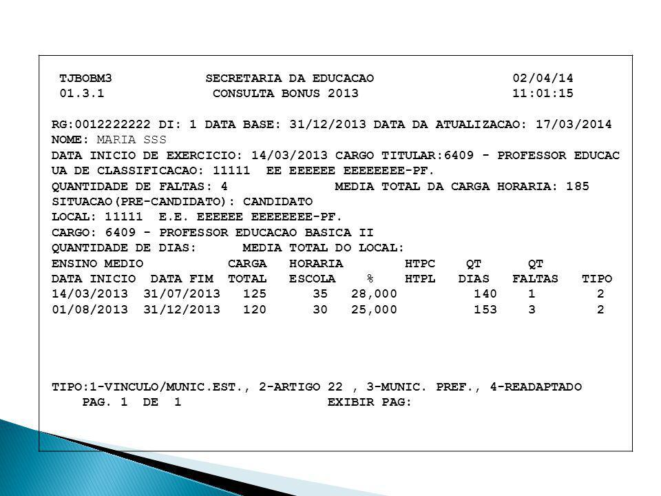 TJBOBM3 SECRETARIA DA EDUCACAO 02/04/14