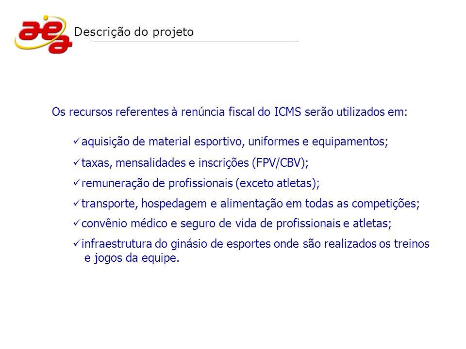 Os recursos referentes à renúncia fiscal do ICMS serão utilizados em: